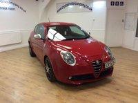 2011 ALFA ROMEO MITO 1.4 TB MULTIAIR QUADRIFOGLIO VERDE 3d 170 BHP £5995.00