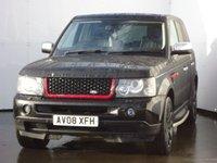 2008 LAND ROVER RANGE ROVER SPORT 2.7 TDV6 SPORT HSE 5d AUTO 188 BHP £11499.00