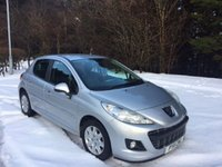 USED 2011 11 PEUGEOT 207 1.4 HDI ACTIVE 5d 68 BHP 6 MONTHS PARTS+ LABOUR WARRANTY+AA COVER