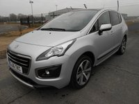 USED 2016 16 PEUGEOT 3008 1.6 Blue HDI Allure 5dr 120 BHP