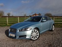 USED 2013 13 JAGUAR XF 2.2 D PORTFOLIO 4d AUTO 200 BHP 1 OWNER FROM NEW WITH FULL JAGUAR SERVICE HISTORY