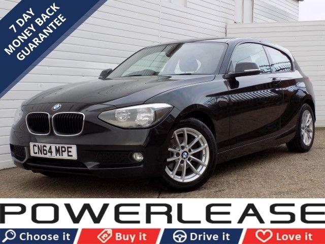 USED 2014 64 BMW 1 SERIES 1.6 116D EFFICIENTDYNAMICS 3d 114 BHP BLUETOOTH USB DAB RADIO FREE TAX