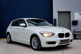 2013 BMW 1 SERIES 2.0 116D SE 5d AUTO  £9690.00