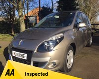 2011 RENAULT SCENIC 1.5 DYNAMIQUE TOMTOM DCI EDC 5d 110 BHP £5995.00
