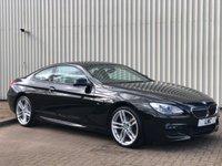 USED 2015 15 BMW 6 SERIES 3.0 640D M SPORT 2DR AUTO 309 BHP