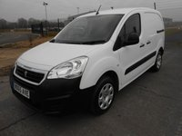 2015 PEUGEOT PARTNER 850 L1 Professional 1.6 HDI 92ps £6925.00