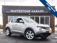 USED 2012 62 NISSAN JUKE 1.6 ACENTA 5d 117 BHP LOW MILEAGE WITH FULL SERVICE HISTORY, CRUISE CONTROL, BLUETOOTH, CLIMATE CONTROL, 2 KEYS