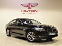 USED 2011 11 BMW 5 SERIES 2.0 520D SE 4d AUTO 181 BHP + 1 PREV OWNER  + AIR CON + AUX + BLUETOOTH