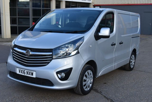 2016 16 VAUXHALL VIVARO 1.6 2900 L1H1 CDTI P/V SPORTIVE 5d 114 BHP A/C ECO  ONE  OWNER FROM NEW, FULL SERVICE HISTORY