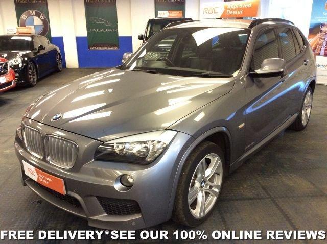 2011 61 BMW X1 XDRIVE23D M SPORT DIESEL AUTOMATIC