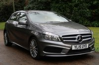 USED 2015 15 MERCEDES-BENZ A CLASS 2.1 A200 CDI AMG SPORT 5d AUTO 136 BHP