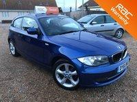 2011 BMW 1 SERIES 2.0 116I SPORT 3d 121 BHP £6495.00