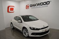 USED 2009 09 VOLKSWAGEN SCIROCCO 2.0 GT 3d 200 BHP FULL BLACK SPORTS LEATHER SEATS