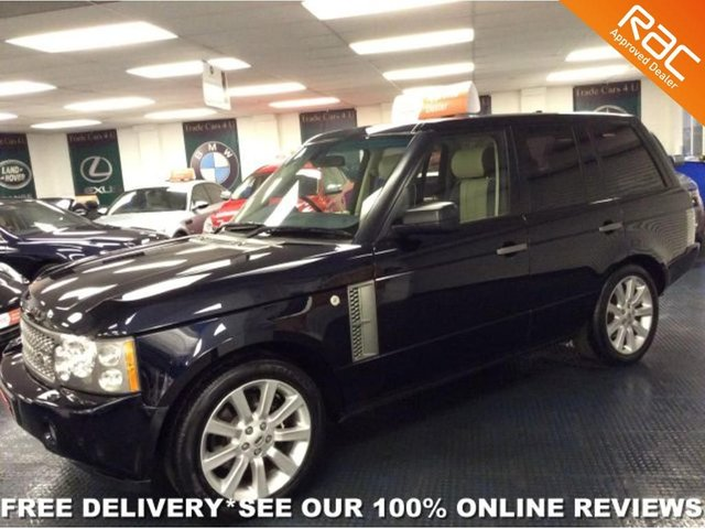 2006 56 LAND ROVER RANGE ROVER  4.2 V8 SUPERCHARGED VOGUE SE