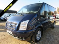 2013 FORD TRANSIT 2.2 TDCi 260 LIMITED SWB LOW ROOF 125 BHP 54936 MILES NO VAT £11995.00