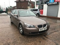 USED 2007 07 BMW 5 SERIES 2.5 525I SE 4d AUTO 215 BHP Automatic-Petrol-Leather Interior-Full Service History-