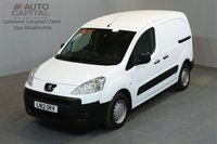 USED 2012 12 PEUGEOT PARTNER 1.6 HDI S L1 850 5d 89 BHP  ELECTRIC WINDOWS AND MIRRORS MOT TILL 20/11/2018