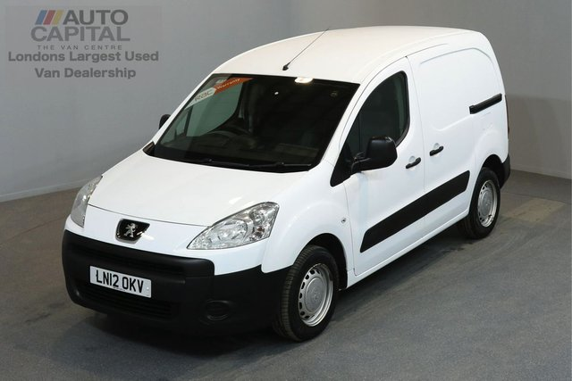 2012 12 PEUGEOT PARTNER 1.6 HDI S L1 850 5d 89 BHP  ELECTRIC WINDOWS AND MIRRORS MOT TILL 20/11/2018