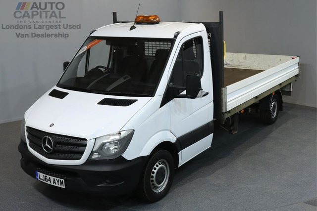 2014 64 MERCEDES-BENZ SPRINTER 2.1 313 CDI 2d 129 BHP LWB RWD CRUISE CONTROL DROPSIDE LORRY ONE OWNER FROM NEW