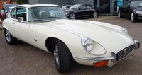 USED 1972 K JAGUAR E-TYPE V12 5.3 Auto Coupe Series 3 RARE OLD ENGLISH WHITE V12 AUTO 2 PLUS 2 COUPE BEEN IN STORAGE FOR LAST 6 YEARS
