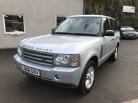 USED 2008 08 LAND ROVER RANGE ROVER 3.6 TDV8 VOGUE SE 5d AUTO 272 BHP *STUNNING*LADY OWNER**HISTORY*REAR ENTERTAINMENT*