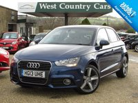 USED 2013 AUDI A1 1.4 SPORTBACK TFSI SPORT 5d AUTO 122 BHP High Specification Hatchback