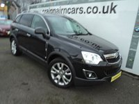 USED 2012 61 VAUXHALL ANTARA 2.2 SE CDTI 5d AUTO 161 BHP Full Leather+Heated Seats