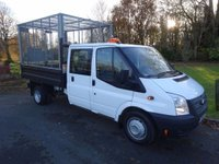 USED 2014 64 FORD TRANSIT 2.2 350 DRW 1d 124 BHP
