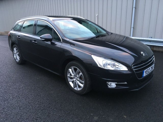 2012 12 PEUGEOT 508 SW 2.0 HDI 140 BHP ACTIVE ESTATE PAN ROOF