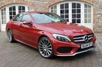 USED 2014 64 MERCEDES-BENZ C CLASS 2.1 C220 BLUETEC AMG LINE 4d AUTO 170 BHP LEATHER - REVERSE CAMERA