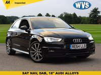 USED 2014 64 AUDI A3 2.0 TDI S LINE 3d AUTO 148 BHP £2825 of factory options are fitted to this 1 owner November 2014 Audi A3 2.0tdi S Line 3dr S Tronic in metallic black with just 20300 miles, priced at just £16499. 1 owner, Audi service history, 2 keys.