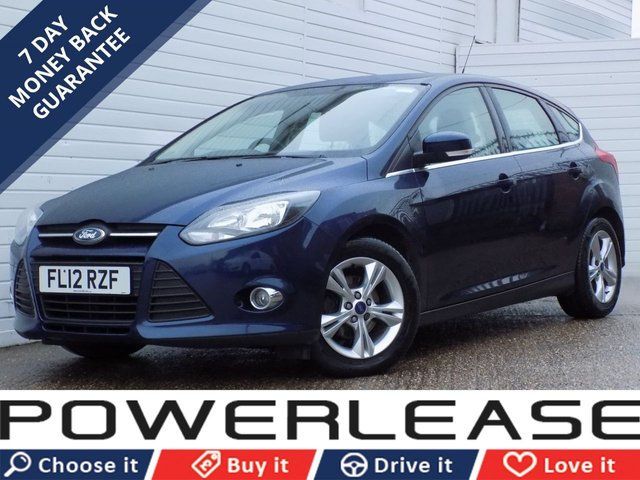USED 2012 12 FORD FOCUS 1.6 ZETEC TDCI 5d 113 BHP DAB PARKING SENSORS HEATED SCREEN
