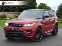 USED 2015 15 LAND ROVER RANGE ROVER SPORT 4.4 AUTOBIOGRAPHY DYNAMIC 5d AUTO 339 BHP 22 INCH WHEELS PANORAMIC SUNROOF BLACK PACK