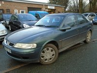 USED 2001 Y VAUXHALL VECTRA 2.0 LS DTI 16V 5d 100 BHP FRENCH IMPORT FRENCH RIGHT HAND DRIVE IMPORT