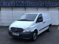 2014 MERCEDES-BENZ VITO 113 CDI BLUEEFFICIENCY 1d 136 BHP 2014 (64) Plate £6950.00