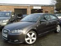 USED 2007 57 AUDI A3 2.0 TDI S LINE 3d 168 BHP NICE LOOKING CAR WITH LEATHER