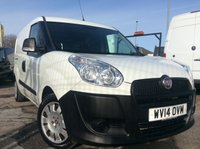 USED 2014 14 FIAT DOBLO MAXI 1.6 16V MULTIJET COMBI 105 BHP 1 OWNER FSH NEW MOT CREW VAN 6 SPEED FREE 6 MONTH AA WARRANTY, RECOVERY AND ASSIST NEW MOT 5 SEATS ELECTRIC WINDOWS 6 SPEED TWIN SIDE LOADING DOORS SPARE KEY