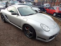 USED 2006 06 PORSCHE CAYMAN 3.4 24V S 2d 295 BHP LEATHER SPORTS SEATS, SAT NAV, F.S.H, STUNNING EXAMPLE