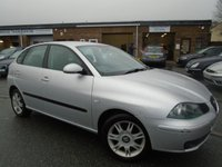 2003 SEAT IBIZA 1.4 SE 3d 60 BHP £1295.00
