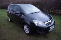 USED 2013 63 VAUXHALL ZAFIRA 1.7 DESIGN NAV CDTI ECOFLEX 5d 108 BHP FSH - F&R PARK AID Presented with 2 Keys, Full Service History, & 12 Months MOT, 7 Seats, Sat Nav, Front & Rear Parking Sensors, Heated Front Seats, Climate Control, Bluetooth, Auto Lights & Wipers,