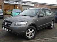 USED 2006 06 HYUNDAI SANTA FE 2.2 GSI CRTD 5d 148 BHP GREAT VALUE 4x4+MOT JULY