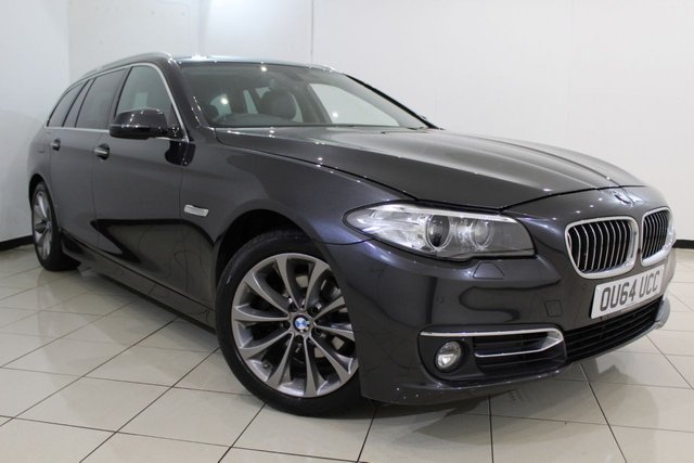 View our 2014 64 BMW 5 SERIES 2.0 520D LUXURY TOURING 5DR AUTOMATIC 188 BHP