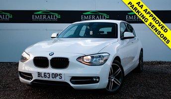 2014 BMW 1 SERIES 1.6 116I SPORT 5d 135 BHP £10750.00