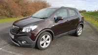 2014 VAUXHALL MOKKA 1.6 EXCLUSIV S/S  1 OWNER, DAB, PARKING SENSORS, PHONE £9795.00