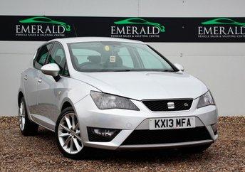 2013 SEAT IBIZA 1.6 CR TDI FR 5d 104 BHP £4950.00