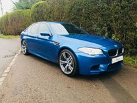 USED 2014 14 BMW 5 SERIES 4.4 M5 4d AUTO 553 BHP
