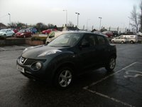USED 2011 11 NISSAN JUKE 1.5 VISIA DCI 5d 110 BHP FREE 6 MONTHS RAC WARRANTY AND FREE 12 MONTHS RAC BREAKDOWN COVER
