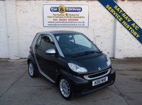 USED 2010 10 SMART FORTWO 0.8 PASSION CDI 2d AUTO 54 BHP Service History SAT-NAV A/C 0% Deposit Finance Available