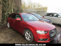 USED 2014 14 AUDI A4 2.0 AVANT TDI SE TECHNIK 5 dr ***OVER £4,000 WORTH OF EXTRAS***