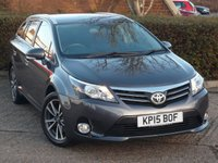 USED 2015 15 TOYOTA AVENSIS 2.0 D-4D ICON 5d 124 BHP NEED FINANCE ?  POOR CREDIT WE CAN HELP! JUST ASK ! CLICK THE LINK AND APPLY 24/7! 50+ MPG IN DAY TO DAY DRIVING!! PERFECT FAMILY CAR!!